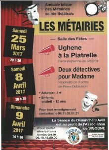 THEATRE SECONDE VIE
