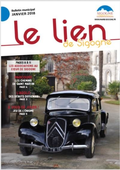 COUVERTURE JOURNAL 2018