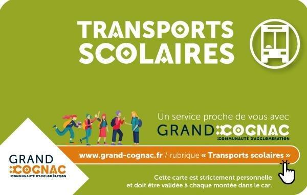 CARTE TRANSPORT SCOLAIRE